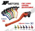 For Kawasaki Z750 (Not for Z750S) 2007-2012 CNC Long Adjustable Brake Clutch Levers  (6.8 inch )
