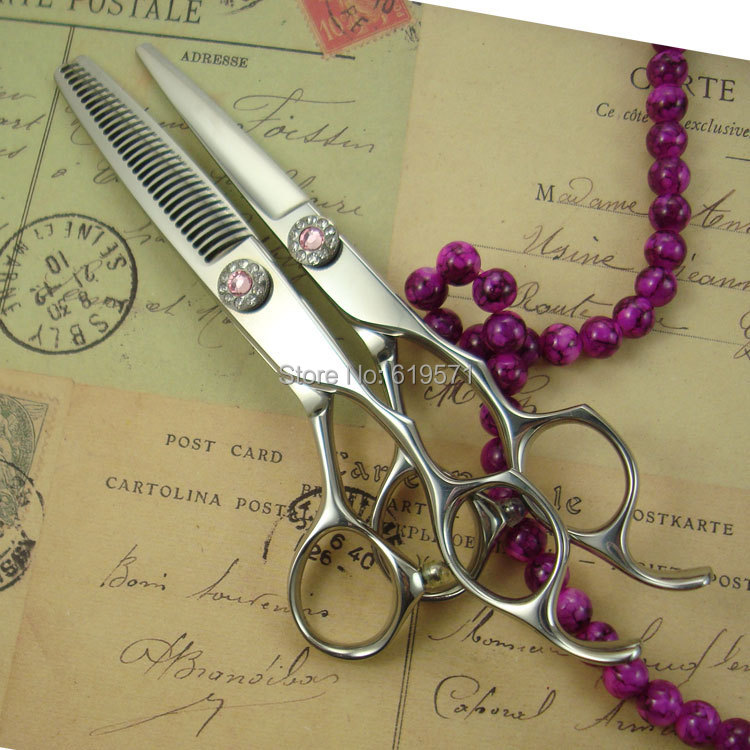 ФОТО professional hair scissors set 6