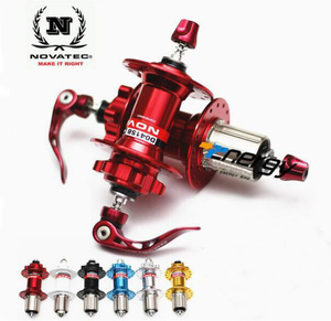 Novatec Hub D041SB D042SB MTB Hub Bicycle Front/Rear Quick release set Bike Hubs 4 bearing BMX Holes 28 32 36 for 8-9-10-11speed(China)
