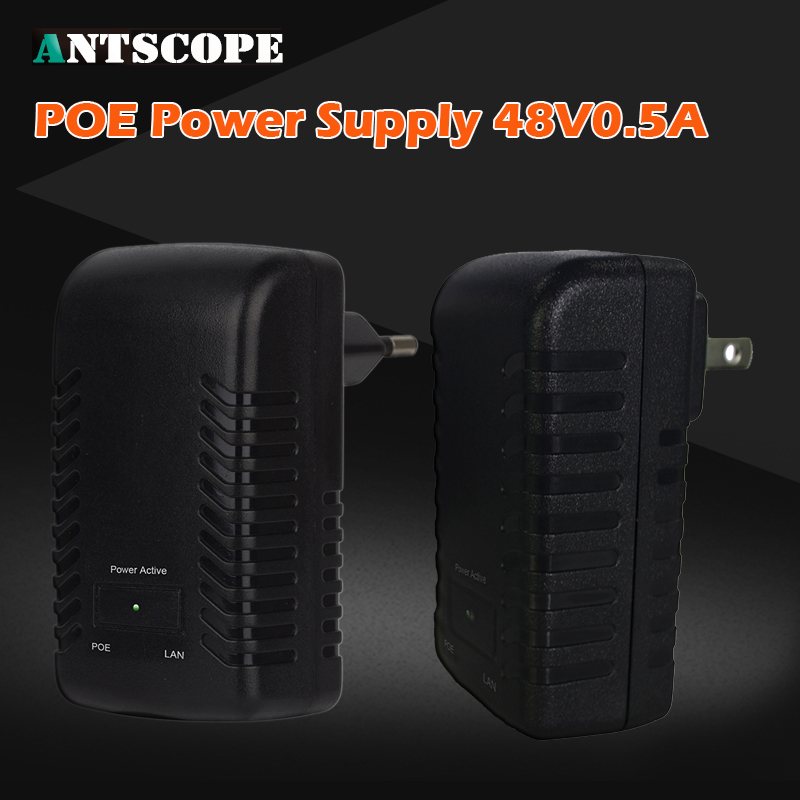 Antscope POE Injector Spliter DC48V 0 5A For CCTV IP camera Networking POE Switch Ethernet POE