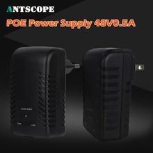 Antscope POE Injector Spliter DC48V 0.5A For CCTV IP camera Networking POE Switch Ethernet POE Adapter EU/UK/US/AU Optional