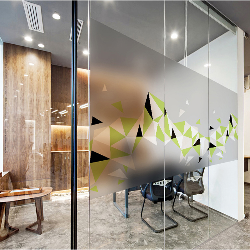 Self Adhesive Matte Decorative Glass Film Removable