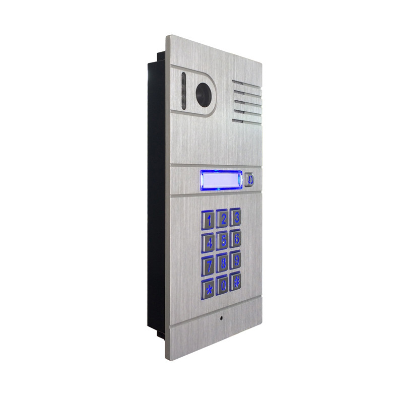 wireless IP video door phone for house use door access smartphone video wireless wifi ip video door phone via smartphone control remote control door access by iphone android smartphone