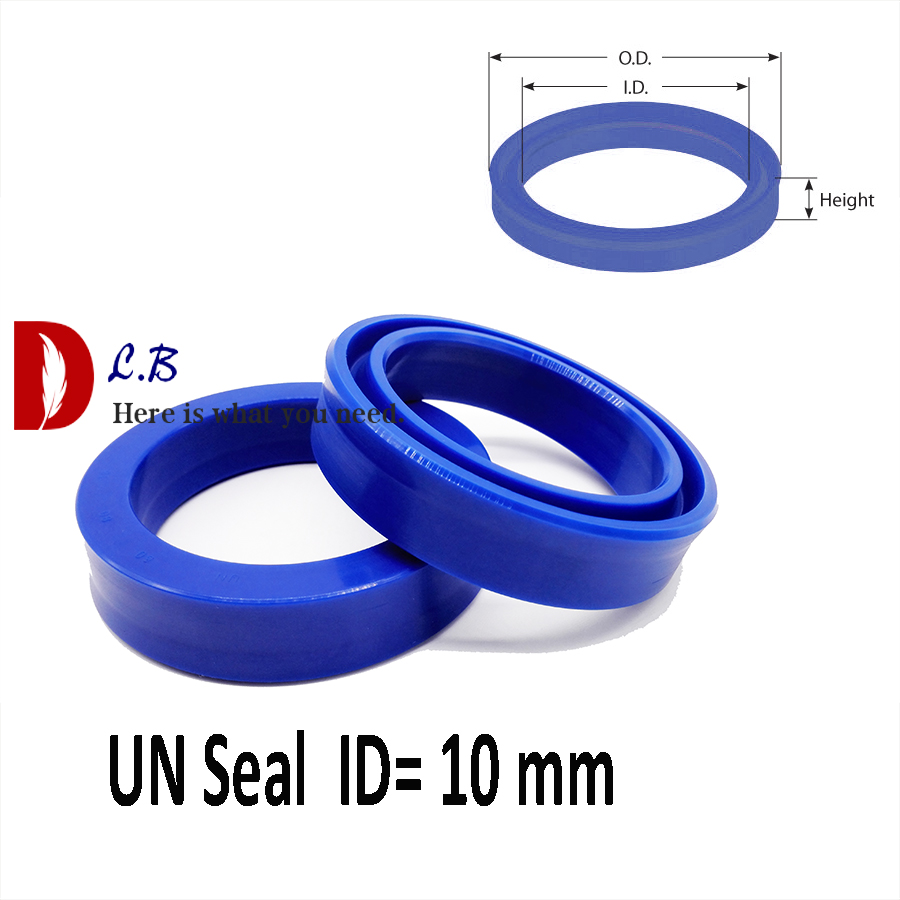 4mm x 10mm x 4mm Hydraulic Rod Seals UN Type U-Cup Large range of sizes available