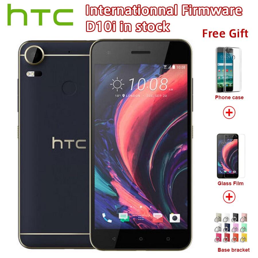 Original Nouveau HTC Desire 10 Pro 4 gb RAM 64 gb ROM 4g LTE Mobile Téléphone 5.5 pouce Octa core Dual SIM 20MP 3000 mah Android Smartphone