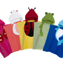 5 цветов, детское пончо с капюшоном, детское банное полотенце/купальный халат с изображениями животных/детское пляжное полотенце с героями мультфильмов