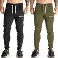 Otoño Basculador Pantalones Estilo de Los Hombres Pantalones Casuales Elástico de La Cintura Para Hombre Flaco Pantalones de Chándal de Entrenamiento Pantalón