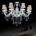 европейских- стиль декоративные люстры спальня привело люстра гостиной современный дом люстры спальня привело свечи люстра Люстра хрустал...