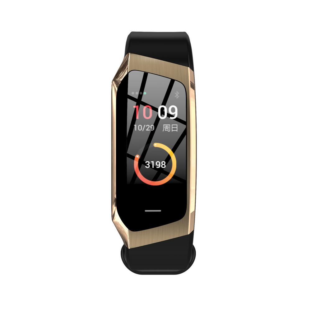 HTB1gcKGdjfguuRjSszcq6zb7FXaJ Greentiger E18 Smart Bracelet Blood Pressure Heart Rate Monitor Fitness Tracker smart watch IP67 Waterproof camera Sports Band
