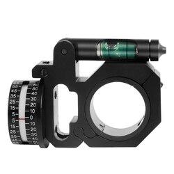 ยุทธวิธีขอบเขตติดตั้งมุมตัวบ่งชี้ระดับฟองพอดี 25.4 มม./30 มม.แหวนอุปกรณ์ล่าสัตว์สำหรับ Optical Sight