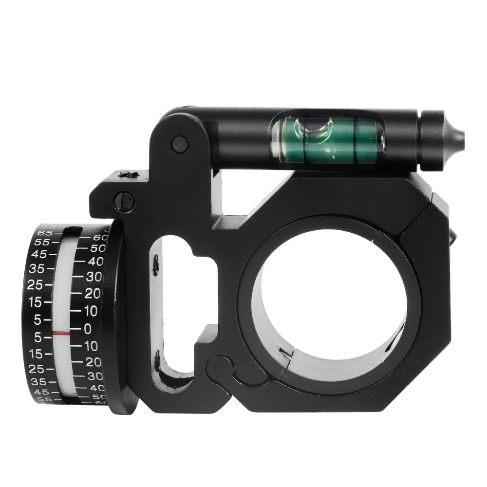 Tactical Scope Mounts Angle Indicator Bubble Level Fit 25.4mm/30mm Rings Hunting Accessories For Optical Sight