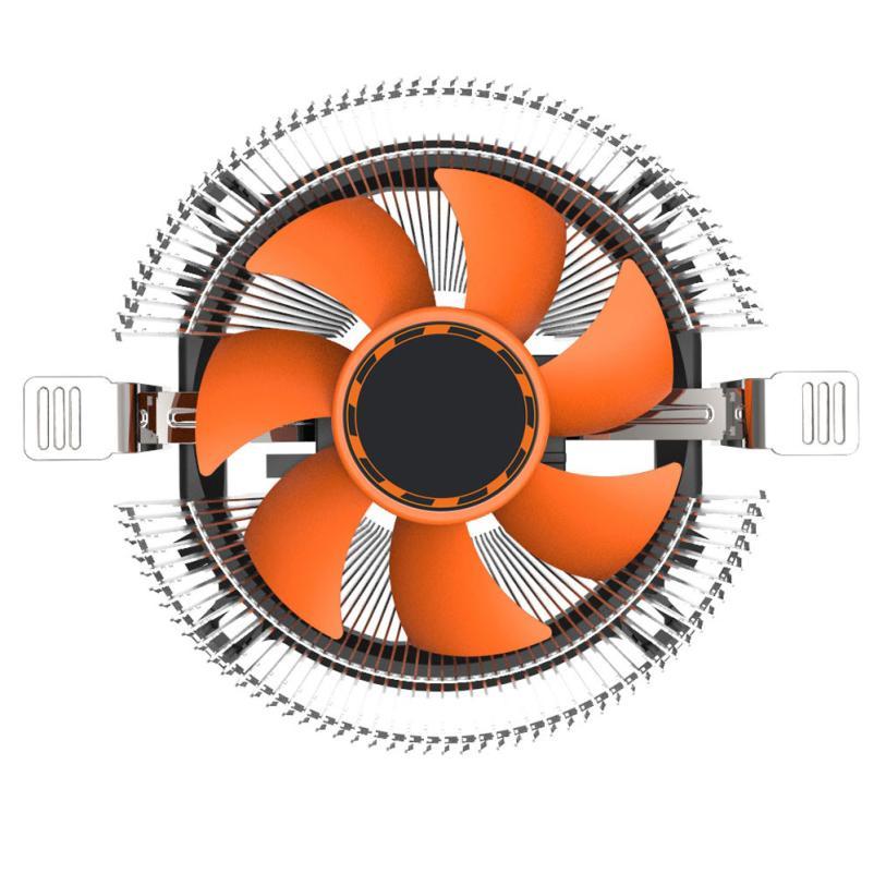 все цены на Hot Selling CPU Cooling Cooler Fan Heatsink 7 Blade For Intel LGA 775 1155 1156 AMD 754 AM2 Jan15 онлайн