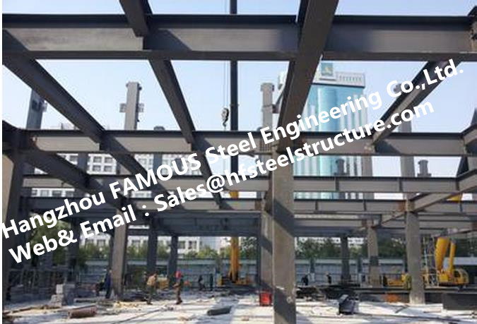 Pre-engineered Industrial Multi-storey Steel Building For Apartment And Hotel