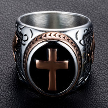 Holy Cross Prayer Ring