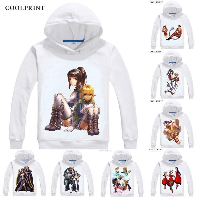 Overlord Obarodo Hoodies Hooded Hoodie Anime Manga Lupusregina Beta Narberal Gamma Entoma Vasilissa Zeta Cosplay Sweatshirts