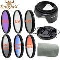 KnightX УФ CPL поляризационный FLD окончил цвет ND Фильтр Комплект для Canon Nikon Sony линзы 6D d90 d3200 d5200 52 мм 55 мм 58 мм 67 мм