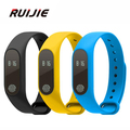 New M2 Bluetooth Smart Bracelet Waterproof IP67 Heart Rate Monitor Message/Call Reminder Wristband for Android iOS PK mi band 2