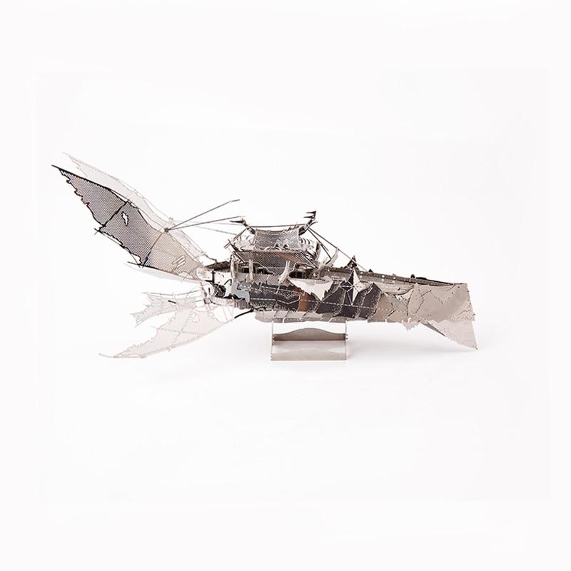 Nouvelle Mini 3D En Métal Puzzle Vaisseau Spatial Foncé Adulte Combinaison En Métal Puzzle Enfants L'éducation de Jouets Meilleur Cadeau pour Les Enfants