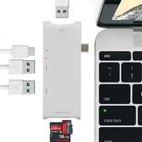 USB Type C HUB To HDMI 4k USB C Adapter Type C Dongle Dock Thunderbolt 3