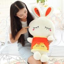 rabbit plush doll Cut Plush Soft Toys Bunny Doll Rabbit Plush Toy Shy rabbit gifts for lovers free shipping