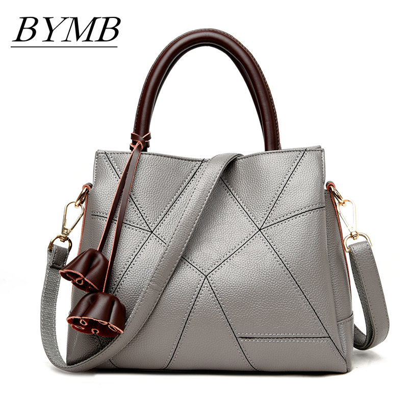 2017 New High Fashion Ladies Hand Bag Women s Genuine Leather Handbag Leather Tote Bag Bolsas