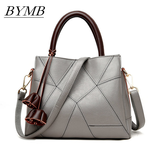 3e3b4f364cd 2017 New High Fashion Ladies Hand Bag Women s Genuine Leather Handbag  Leather Tote Bag Bolsas femininas Female Shoulder Bag