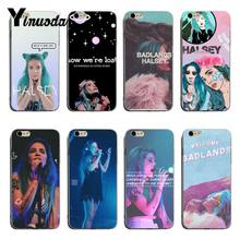 Yinuoda Halsey Colors Lyrics Badlands Printing Drawing protection phone Cover Case For iPhone X XS XR XsMax 8plus 6 6s 7 7plus(China)