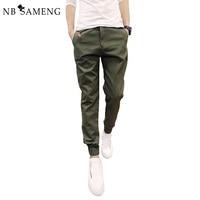 2015 New Mens Skinny Joggers Chinos Slim Jogging Sport Pants Men Trousers Hip Hop Pantalones Hombre