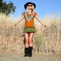 Novas Mulheres Boho Vestido Sexy Imprimir Túnica Boho Curto Navajo Tribal Africano Vestidos Padrão de Bali 847