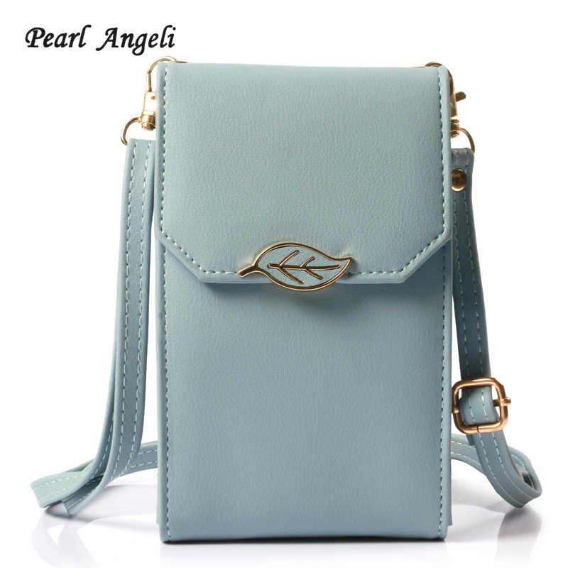 Pearl Angeli 2018 Wallet Women Wallets Female Crossbody Bag Handbag Clutch  Leather Wallet Coin Pocket Purse f2a5f30420