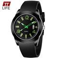 TTLIFE Top Men Watches 2016 Dress Luxury Brand Men's Quartz Watch With Date Sports Youngmen Silicone Strap Wrist Watch clock