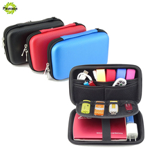 Mobile Kit Case High Capacity Storage Bags Digital Gadget Devices USB Cable Data Line Travel Insert