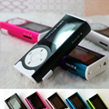 Hot Sale Mini Clip Mp3 Music Player Sport Mp3 TF Card Slot With LED Flashlight + Earphone + Charging Cable Wholesale Price