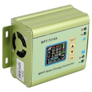 Image 3 - Controlador de carga Solar MPPT LCD DC DC 24V, 36V, 48V, 60V, 72V, 0 10A, regulador de refuerzo de batería de litio ajustable, MPT 7210A