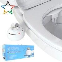 Atalawa Slim Design Non Electric Mechanical Bidet Muslim Shower Shattaf for Bathroom Toilet Seat Attachment, Fresh Water Sprayer