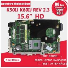 K50IJ motherboard for ASUS laptop X5DIJ,K60IJ,K40IJ,X8AIJ rev 2.1 PN 60-NVKMB1000-C03 69N0EJM10C03