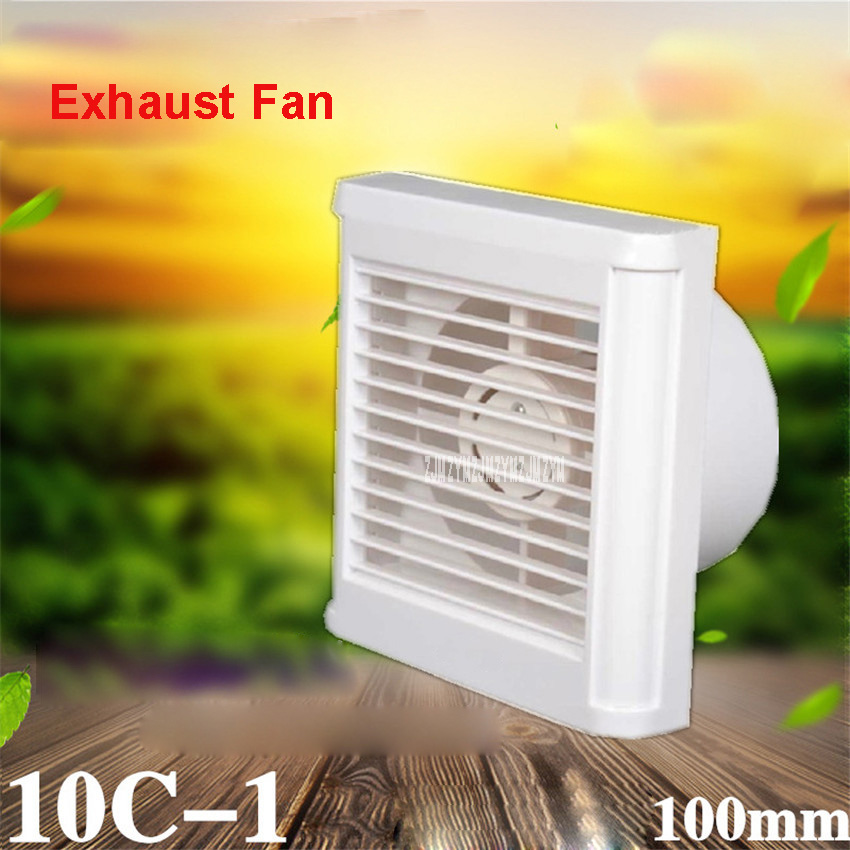 10c 1 Mini Wall Window Exhaust Fan Bathroom Kitchen