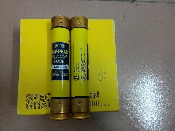 LPS-RK-50P delay fuse fuse 27X140 LOW PEAK BUSS genuine 50A600VLPS-RK-50P delay fuse fuse 27X140 LOW PEAK BUSS genuine 50A600V