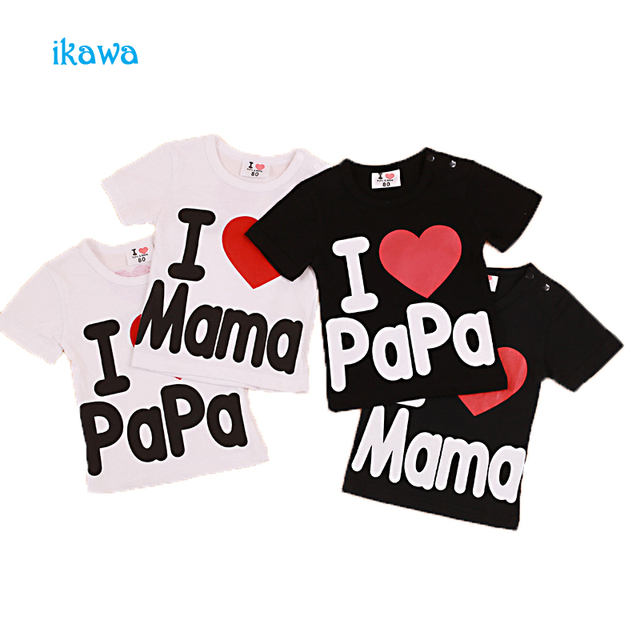 Baby boys girls short sleeve summer t-shirt