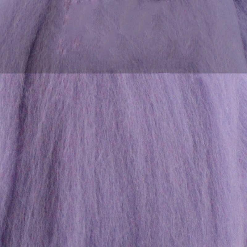 MoTiRo, 1 couleur/ensemble, feutre de laine fourré de couleur unie, motif système violet et bleu, feutre de laine Non fini pour couture/feutrage/fait main