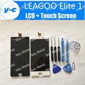 LEAGOO Elite 1 LCD Screen 100% New  FHD 5.0inch Lcd Display+Touch Screen Panel Replacement For LEAGOO Elite One+Black/White