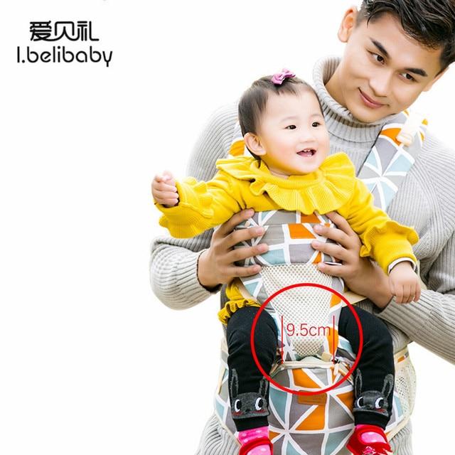 Ibelibaby נושאות תינוק אופנה פרחוני הדפסת קלע מנשא בטיחות כותנה מותן חגורת תינוק קנגורו תרמיל Carrier