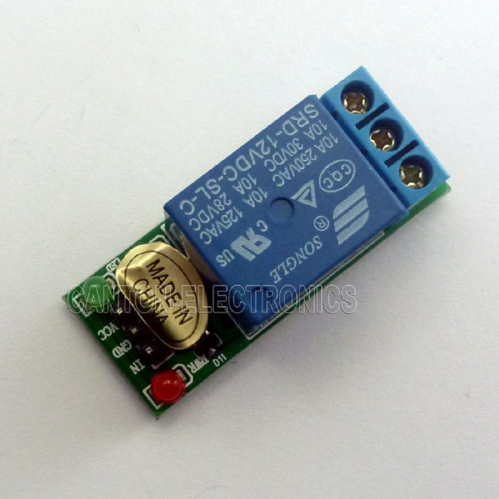 Touch Time Delay Circuit 10 Second Timer By Transistor Eleccircuitcom Tb Channel Relay Module For Sensor Switch In Relays From Home Improvement On