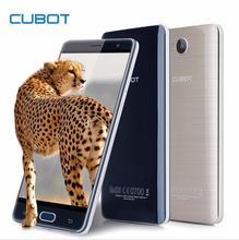 Оригинал CUBOT Cheetah 4 Г 5.5 «FHD Смартфон Android 6.0 MTK6753A Octa Ядро Мобильного Телефона 3 ГБ + 32 ГБ 13MP Отпечатков Пальцев ID Мобильный Телефон