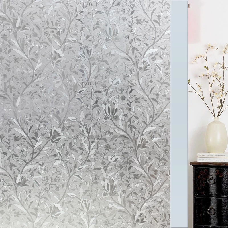 Privacy Stained Gl Decorative Window Film Vinyl Static Cling Home Decor Self Adhesive No Glue Decoration