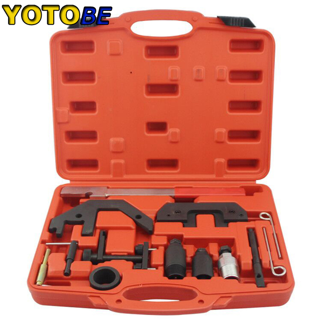 US $35 77 8% OFF|Diesel Engines Timing Tool Kit For BMW M41 M51 M47 M57 TU  T2 E34 to E93-in Engine Care from Automobiles & Motorcycles on