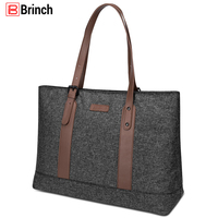 Women Laptop Bag 2018 New Arrival 15.6 Inch Notebook Computer Bags Lightweight Nylon Briefcase Classic Handbag Travel Tote Bag