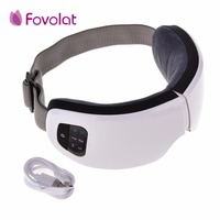 Portable Eye Massage 6S Wireless USB Rechargeable Bluetooth Foldable Eye Massager Adjustable Air Pressure Eye Protector