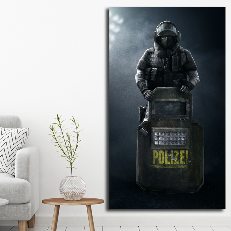 Rainbow Six Siege Jager And Iq Funny Moments Art Canvas