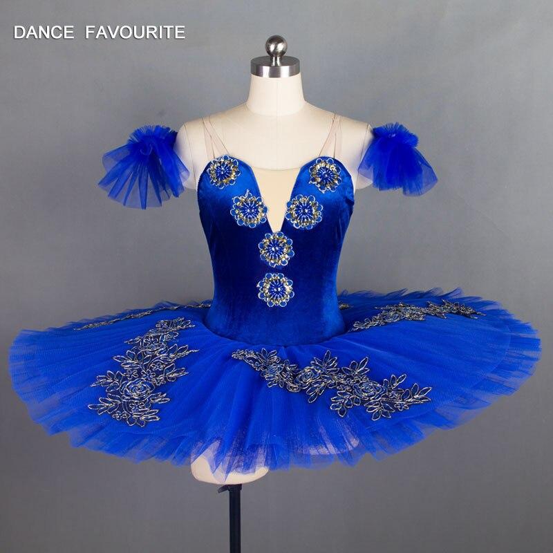Royal blue color ballet leotard 7 layers adult women dance costume ballet tutu ballerina performance ballet costume dance tutu